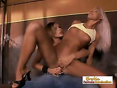 Prison Time Cut Short With Some Nice Femdom