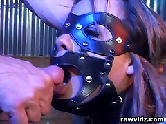 Ball Gagged And Tied Rough crazy stangers Anal Fucking