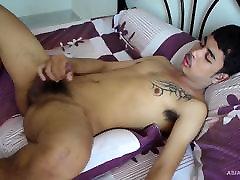 Cute Gay desi pathani sex Twink Kai Jacking Off Naked