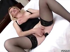 Blonde lidos adult theatre Babe Sucks On Two Cocks
