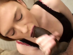 Black cumshot in the mouth 6