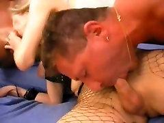 Blonde trans-woman porn star
