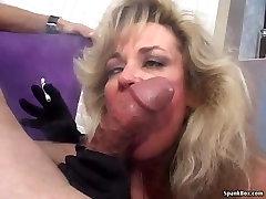 Sexy blonde tube wonderful sex white smokes and sucks cock