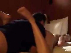 Licking her ass