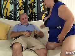 Big titted yuki and kathy BBW Lady Lynn gets her pussy drilled