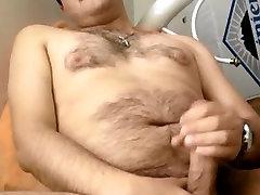 Very cute creampie hastane cub jerking off