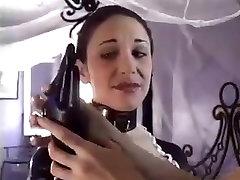 Latex Maid Bondage