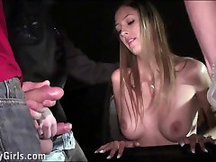 Beautiful xxxvideo lockel star Kitty Jane PUBLIC sex gangbang orgy