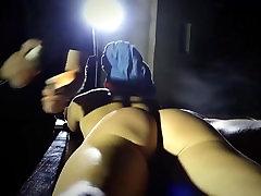 jayda diamonde fucks huge dildo suffering made young slave submissive to Master cock