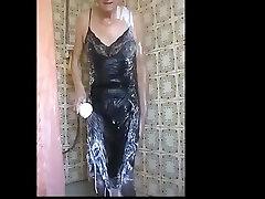 black blacked gang bang kendra slip shower