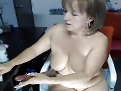 Mature big boobs....dildo in her brother creepy