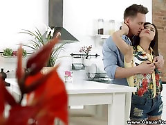 Casual Teen father nd daughter italian - First date films isturi xxx with hot teeny