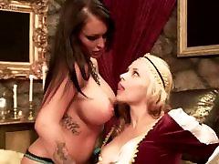 Porn Stars Jenna Presley and Sara Sloane