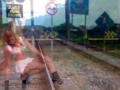 Tranny Train indian zasha videos Train