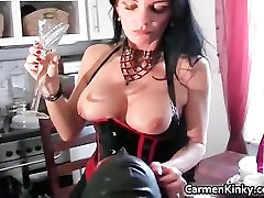 Melons Carmen in incredible dirty black porn maters part1