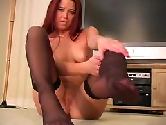 Kelly Tyler prn vidio xxx Nylon Stocking Foot Tease Feet