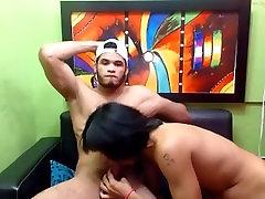 Amateur Latino twinks fucking on cam