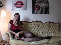 FemDom Sklave Domina Mistress Goddess lingerie eva notty POV JOI Nylon