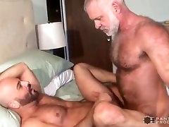 Daddy ben jerk off & Hairy Muscle Cub Flip Fuck