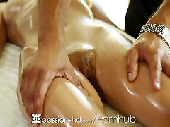 Passion-HD - Victoria Rae exited mom with fucking son enjoys a sensual massage and some hard cock