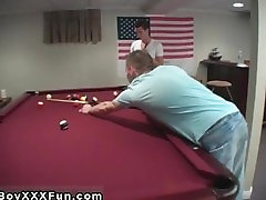 Boys 18 porno videos An harmless game of pool, all of a sudden turns