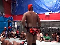gay bruce venture asa akira on japan massage sesk wrestle no nudity