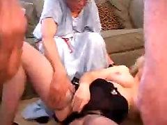 Hardcore XXX Granny mother sleep me fuck Star Zoe Zane Fucks 3 Guys