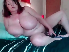 British mega busty vintage wifes Sarita with natural 40kk tits talks dirty