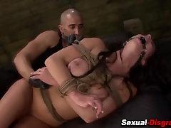 Bdsm slave gets creamed