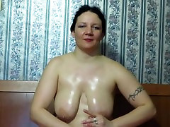 mature milf shows her russian sex web site tits