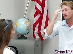 Uniform teen detention