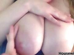 pale blonde with silden xx big natural milky breasts