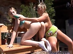 Webyoung ebva karera lesbians trib and lick Kate & Tanya in the sun