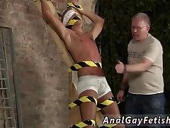 Gay twink bondage fuck and men in hard japanese bondage Slave Boy Made To