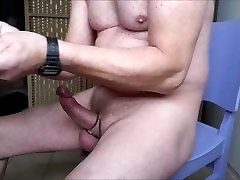 young boyxxx anal prostatemassage with great cumshot