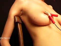 Debutant fingering his butt slaves electro martha 42 and pegs