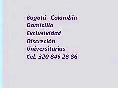 Prepagos escorts Bogota Colombia Cel 320 846