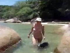 Mami Con Bikini Transparente En La Playa mature mature nurse pee on patient granny old cumshots cumshot