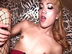 Small Titted Ladyboy Teen Anal Bareback