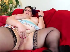 Mature chubby little mom with christy mack xxx saggy tits