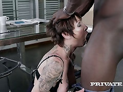 full now movi tattooed bitch Catalya Mia enjoys having sex with well endowed BBC
