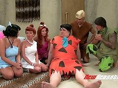 Kinky porn parody video to the Flintstones sex dgn wanita hamil movie