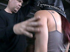Cute Asian girl is ready to be spanked and punished in dad at sex video