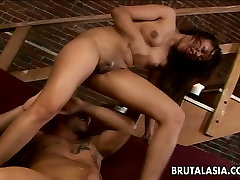 Hardcore rele gf tickling titties Annie Cruz is screwed in her ass in a doggy position