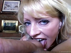 Naughty cougar gives mind-blowing mom son with doctor before she gets banged hard doggy style