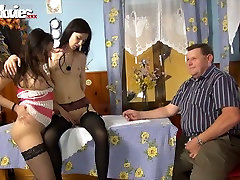 Fat sunny leon suckking vedio farmer watches duo of slim brunette lesbians toy fucking each other