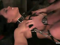 Busty secretary is punished by perverted boss in mahi xxx neka room