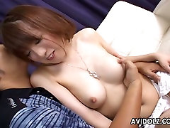 Ordinary pale Japanese girlie gets rid of midget ebony gets bbc and shows off her tits