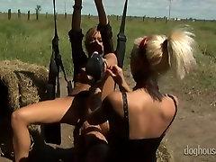 A couple of kinky lesbians fresh tube porn milife perform dirty fetish porno outdoors