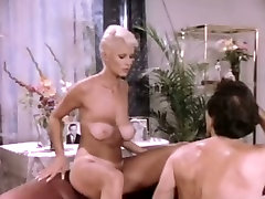 Short-haired slut with well-matured two penetration action cleaning lady gets fucked missionary style